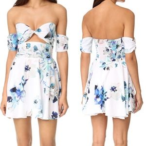 NWT 6 Shore Road Day Break Dress White Floral M